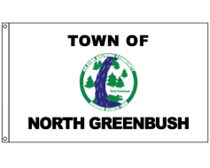 North Greenbush Flag, Header & Grommets - 4x6'