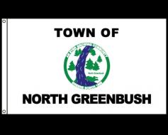 North Greenbush Flag, Header & Grommets - 4x6'