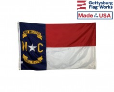 North Carolina Flag - Outdoor