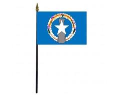 "Northern Marianas Stick Flag - 4x6"""