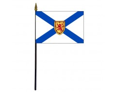 Nova Scotia Stick Flag - 4x6""