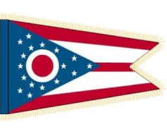 Ohio Flag - Indoor