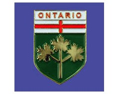 Ontario Lapel Pin (Shield)