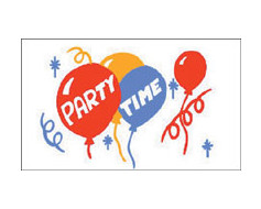 Party Time Flag - 3x5'