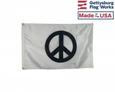Classic Peace Sign Flag