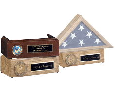 Pedestal for Memorial Case