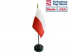 Poland Stick Flag