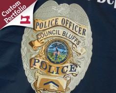 Custom Police Company Flag Portfolio