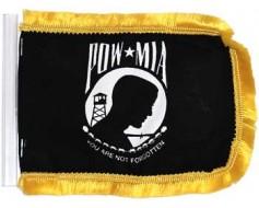 """POW/MIA Antenna Flag - 4x6"""""""