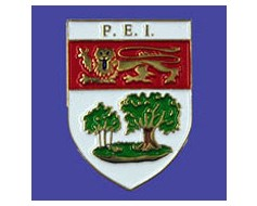 Prince Edward Island Lapel Pin (Shield)