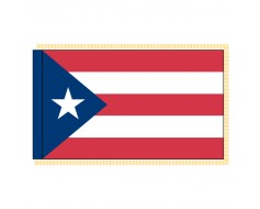 Puerto Rico Flag - Indoor