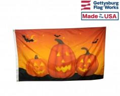 Pumpkin Trio Flag - 3x5'