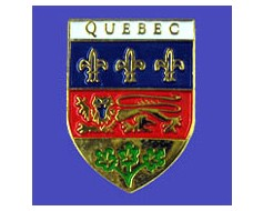 Quebec Lapel Pin (Shield)