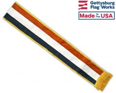 Red, White & Blue Parade Sash for Patriotic USA Parades