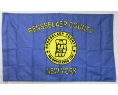 Rensselaer County Flag