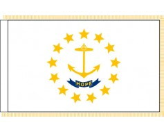 Rhode Island Flag - Indoor