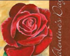 Valentine's Rose Banner