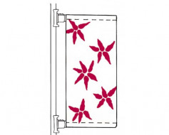 Aluminum Avenue Banner Single Set