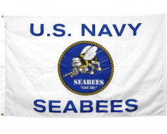 3x5' US Navy Seabees Flag