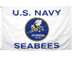 3x5' US Navy Seabees Flag