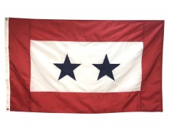 Service Star Flag (2 Blue Stars) - 3x5'