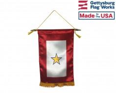 "Service Star Banner (1 Gold Star) - 8x14"""