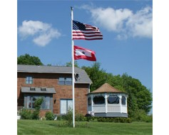 About Fiberglass In-Ground Flagpoles