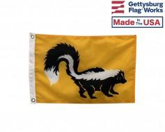 """Skunk Boat Flag - 12x18"""""""