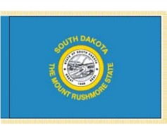 South Dakota Flag - Indoor