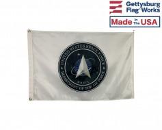 U.S. Space Force Seal Flag - Alternate Design- Choose Opt...