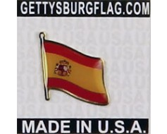 Spain (Seal Design) Lapel Pin