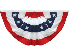 Patriotic Pleated Fan (Stars & Stripes)