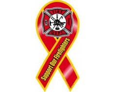 Firefighter Support Magnet