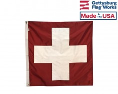 Switzerland Flag - 3x3' - Header & Grommets