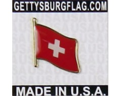 Switzerland Lapel Pin