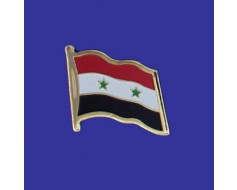Syria Lapel Pin (Single Waving Flag)