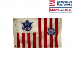 US Coast Guard Ensign - Maritime Government Spec