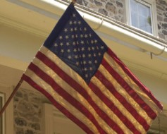 Tea Stained Flag