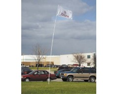 21' Telescoping Superflex Flag Pole
