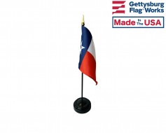 Texas State Stick Flag - Choose Size Options