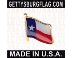 Texas State Flag Lapel Pin