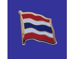 Thailand Lapel Pin (Single Waving Flag)