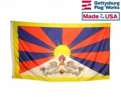 Flag of Tibet - Tibetan Snow Lion Flag