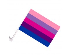 Transgender Car Window Flag
