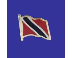 Trinidad & Tobago Lapel Pin (Single Waving Flag)