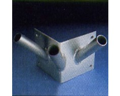 Triple Corner Flagpole Bracket