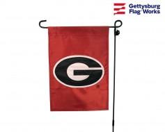 "GEORGIA Bulldogs Garden Flag - 12X18"" -CHOOSE OPTIONS"