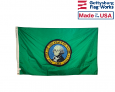 State of Washington Flag - Outdoor