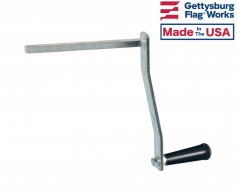 Winch Handle for Crank Flagpole