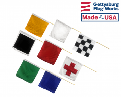 Motorcycle Racing Flag Set